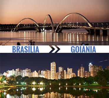 Brasília x Goiânia