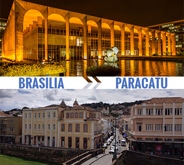 Brasília x Paracatu
