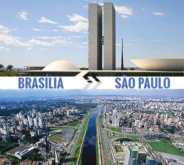Brasília x São Paulo