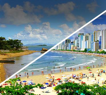 Florianópolis x Balneário Camboriú