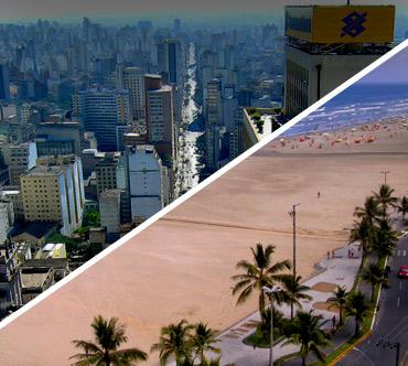 Passagem de Ônibus de São Paulo para Praia Grande